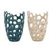 Woodland Imports Distinctive Vase (Set of 2)