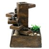 Woodland Imports Resin Eternity Step Stone Tiered Fountain