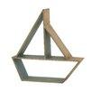 Woodland Imports Marvelous Wood Table Shelf