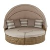 Woodland Imports Delightful Daybed with Cushions