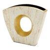 Woodland Imports Elegant and Timeless Inlay Vase