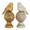 Woodland Imports Staggeringly Designed Bird Figurine (Set of 2)
