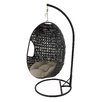 Woodland Imports Attractive Porch Swing with Stand