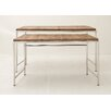 Woodland Imports 2 Piece Console Table Set