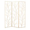 "Woodland Imports 79"" x 60"" 3 Panel Room Divider"