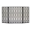 Woodland Imports 3 Panel Fireplace Screen