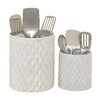 Woodland Imports 2 Piece Kitchen Utensil Holder Set