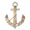 Woodland Imports Rope Anchor Wall Décor