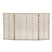 Woodland Imports Fireplace Screen