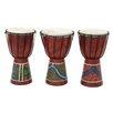 Woodland Imports 3 Piece Drum Sculpture Set