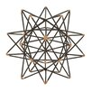 Woodland Imports Wire Star Sculpture