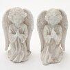 Woodland Imports 2 Piece Angel Figurine Set