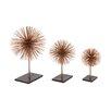 Woodland Imports 3 Piece 3D Table Top Sculpture Set