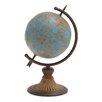 Woodland Imports Antique Metal Globe
