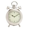 Woodland Imports Vintage Metal Table Clock