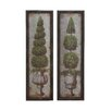 Woodland Imports 2 Piece Framed Painting Print Set