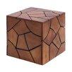 Woodland Imports Mahogany Solid Wooden Stool