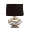 "Woodland Imports Designer 25"" H Table Lamp with Empire Shade"