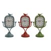 Woodland Imports Metal Table Clock (Set of 3)
