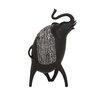 Woodland Imports Trumpeting Elephant Figurine