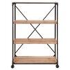"""Woodland Imports 63"""" Etagere Bookcase"""