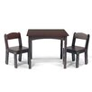 Sunnywood WonkaWoo Deluxe Children's 3 Piece Table and Chair Set