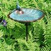 Scallop Scallop Shell Birdbath - ACHLA Bird Baths