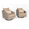 RST Brands Cannes Motion Armchair with Cushions (Set of 2)