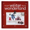 Fetco Home Decor Snapshots Winter Wonderland Picture Frame