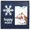 Fetco Home Decor Snapshots Happy Holidays Picture Frame