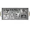 "Fetco Home Decor Albine ""Family A Lifetime of Love"" Clip Collage Picture Frame"