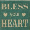 Fetco Home Decor Bless Your Heart Wall Décor