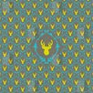 DENY Designs Bianca Green Oh Deer 3 Shower Curtain
