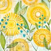DENY Designs Cori Dantini Sun Burst Flowers Shower Curtain