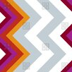 DENY Designs Karen Harris Modernity Solstice Warm Chevron Shower Curtain