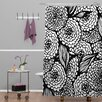 DENY Designs Julia Da Rocha Bouquet of Flowers Love Shower Curtain
