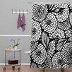 DENY Designs Julia Da Rocha Bouquet of Flowers Love Shower Curtain