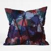 DENY Designs Sarah Bagshaw Thistles Throw Pillow