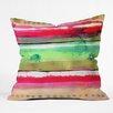 DENY Designs CayenaBlanca Ink Stripes Throw Pillow