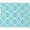 DENY Designs Elisabeth Fredriksson Crystal Flowers Fleece Throw Blanket