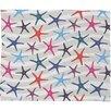 DENY Designs Zoe Wodarz Star Fish Fleece Throw Blanket