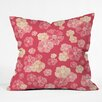 DENY Designs Lisa Argyropoulos Blossoms On Coral Throw Pillow