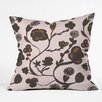 DENY Designs Georgiana Paraschiv Floral II Throw Pillow