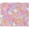 DENY Designs Camilla Foss Circles in Colors I Fleece Throw Blanket