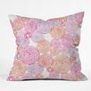 DENY Designs Camilla Foss Circles in Colors I Throw Pillow