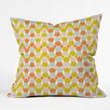 DENY Designs Hello Twiggs Bring Summer Back Throw Pillow