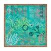 DENY Designs Kerrie Satava Summer Burst Square Tray