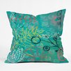DENY Designs Kerrie Satava Summer Burst Throw Pillow