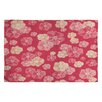 DENY Designs Lisa Argyropoulos Blossoms on Coral Rug