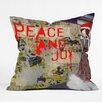 DENY Designs Amy Smith Urban Holiday Throw Pillow